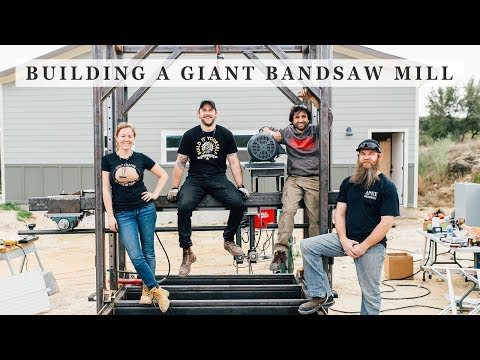 Building a Giant Bandsaw Mill - Bringing it All Together