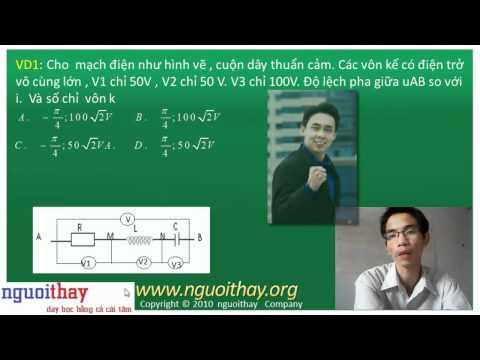 Vật lý : Điện xoay chiều (phần 5)