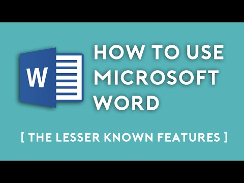 how to use word
