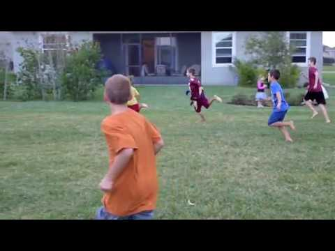 Best backyard Football - YouTube