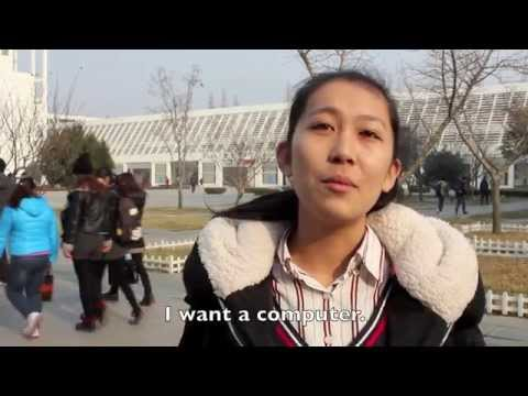 Asking Chinese People: What Do you Want for Christmas? (Watch til the end)