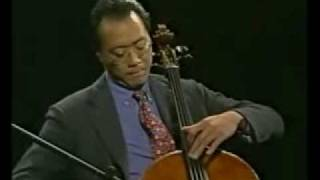 "Yo Yo Ma performing ""Appalachia Waltz"", composed by Mark O"