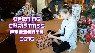 Opening Christmas Presents 2016 | Bethany G