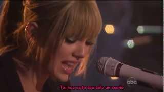 Taylor Swift - Back To December Subtitulado En Español