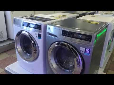 Dòng máy giặt 11kg cửa ngang Electrolux EWF14113 và EWF14113S giá 16tr