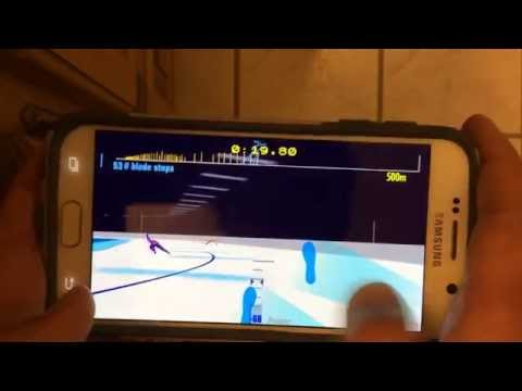 Speed Skating app prototype