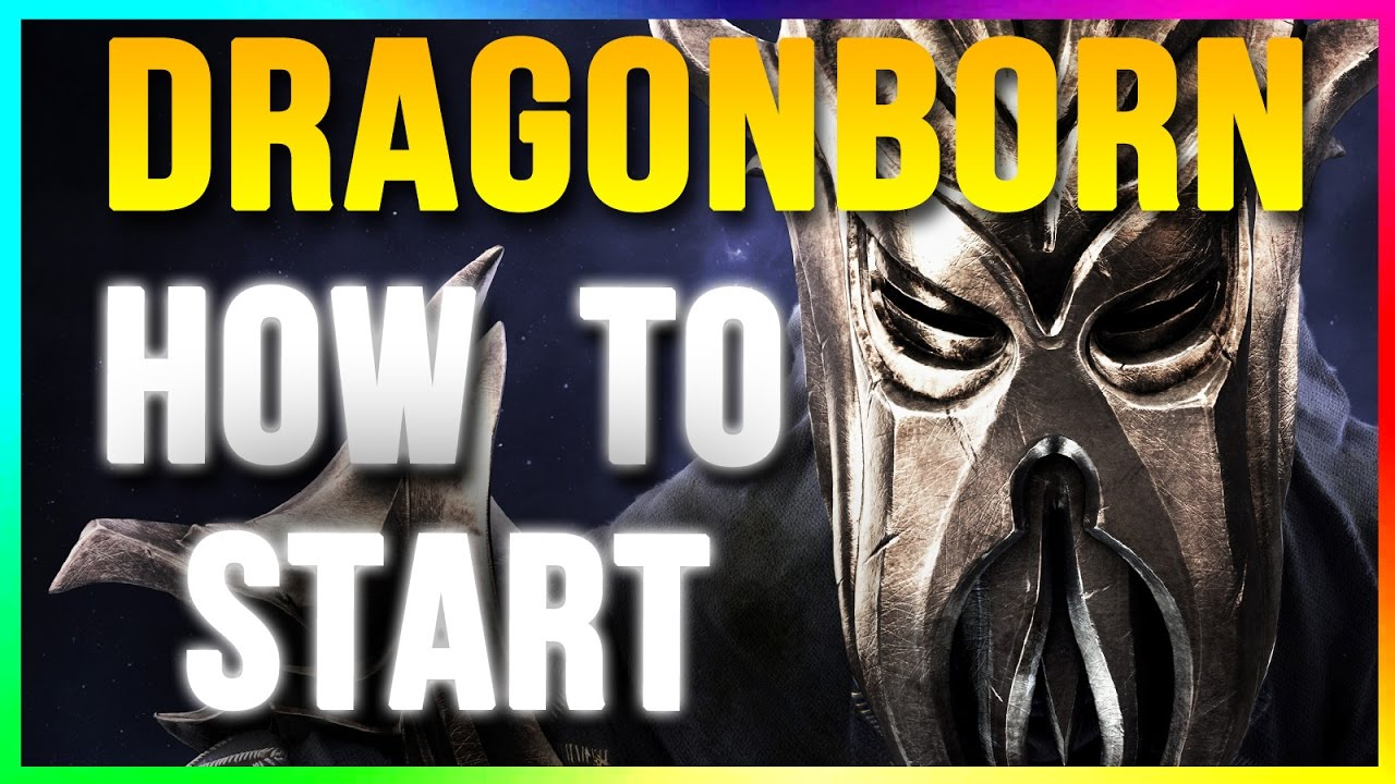 how to begin skyrim dlc