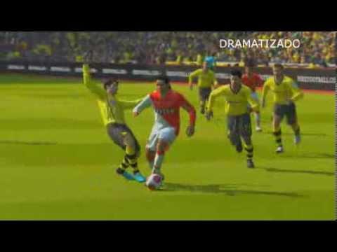 La Lesión de Falcao - se perderá el Mundial Brasil 2014 ? Simulación Gameplay PES2014