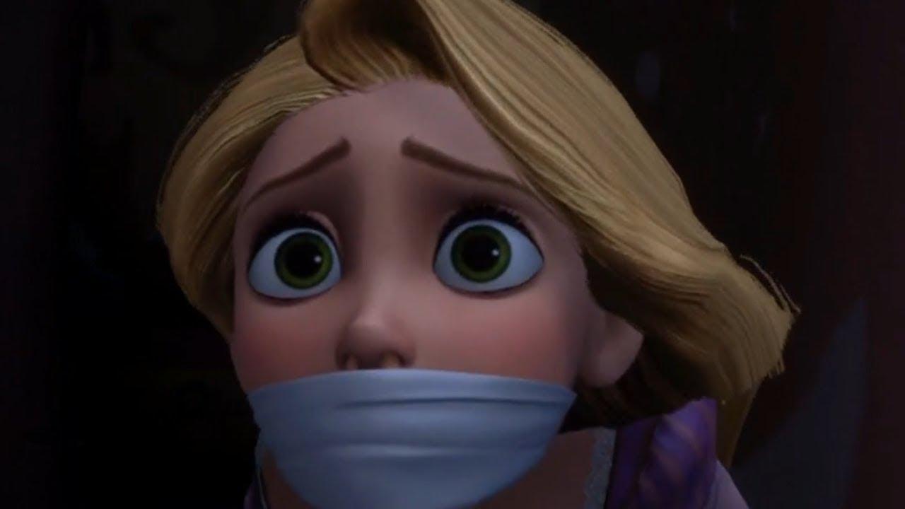 Rapunzel Tied Up