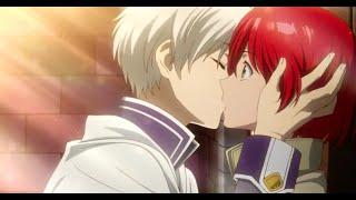 Download Video Akagami no Shirayuki- Zen (finally) kisses Shirayuki MP3 3GP MP4