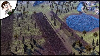Massive 35000 Gaul v Rome (Battle of Alesia) Ultimate Epic Battle Simulator Gameplay