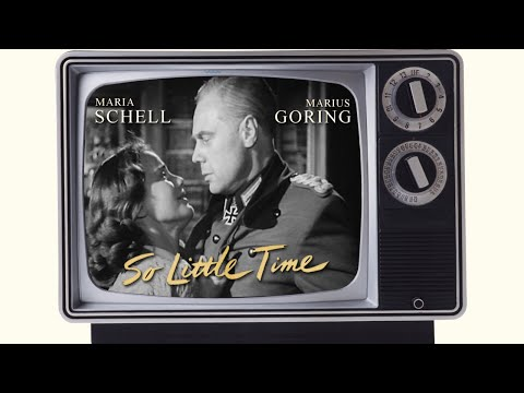 So Little Time (1952) Marius Goring and Maria Schell