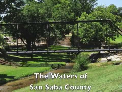 The Waters of San Saba County