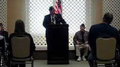 Veterans Day Ceremony at the Christian Healthcare Center in Wyckoff, NJ - 11/11/2013