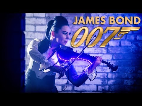 James Bond 007 Theme 🎻Electric Violin Cover Cristina Kiseleff