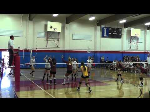 Varsity Spikefest 1 Match 9/7/13 Cupertino vs Harbor