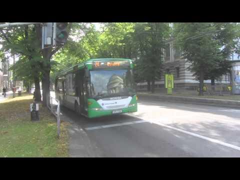 Buses in Tallinn, Estonia