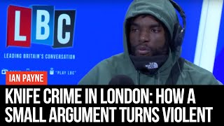 Knife Crime In London: How A Small Argument Turns Violent