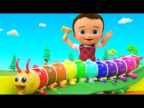Colors for Children to Learning with Little Baby Fun Play Co