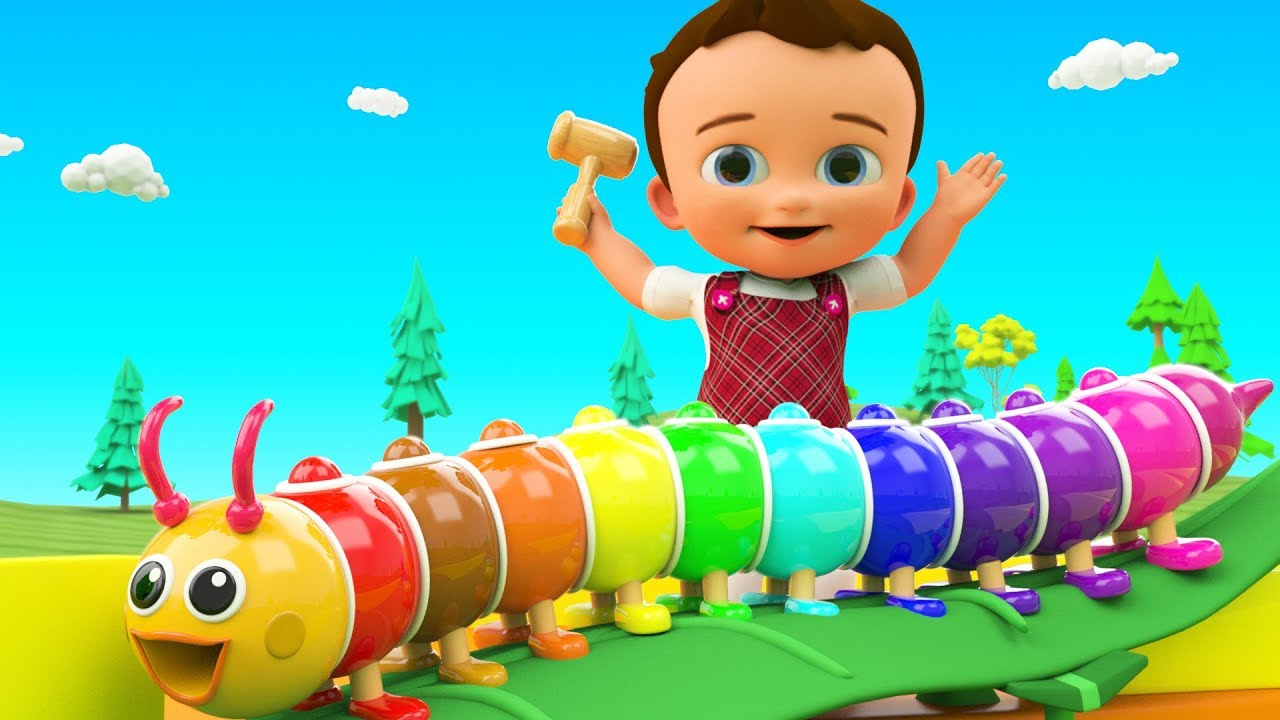 Colors For Children To Learning With Little Baby Fun Play