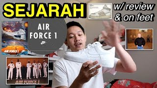 Sejarah Nike Air Force 1 w/ review & on feet