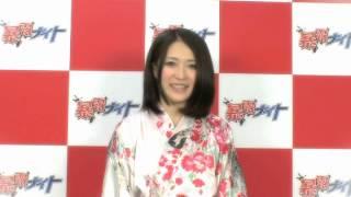 """""""ピー""""ガールズ「沢口けいこ」の自己紹介。 http://www.tv-tokyo.co.jp/official/bakuronight/"""