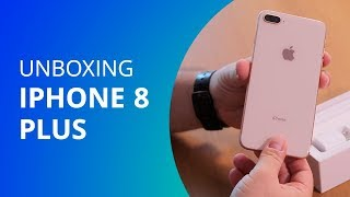 iPhone 8 Plus [Unboxing] - Canaltech