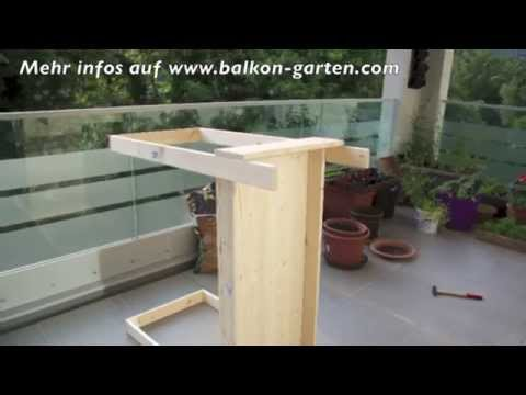 hochbeet selber bauen meine balkon garten tipps youtube. Black Bedroom Furniture Sets. Home Design Ideas