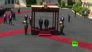 العاهل الأردني عبد الله الثاني يزور رام الله ويجري محادثات مع الرئيس محمود عباس
