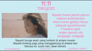 Gambar cover TAEYEON - 11:11 [MV, EASY LYRIC, LIRIK INDONESIA]