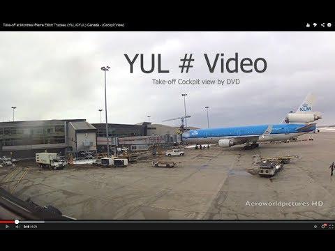 Take-off at Montreal Pierre Elliott Trudeau (YUL/CYUL) Canada - (Cockpit View)