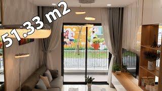 Căn Hộ Mẫu 51,33 m2 Bcons Plaza, Thống Nhất, Dĩ An, Bình Dương - Khu Nhà Mẫu Căn Hộ Bcons