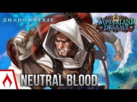 [Shadowverse] That Winning Smile - Neutral Bloodcraft Deck Gameplay (Sponsored)
