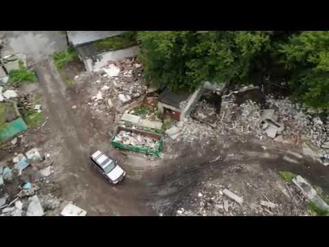 31.08.2019 Пермь, Разгуляй, незаконный снос гаражей