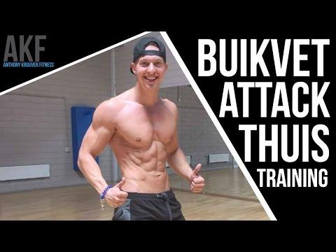 BUIKVET ATTACK | Thuis Training