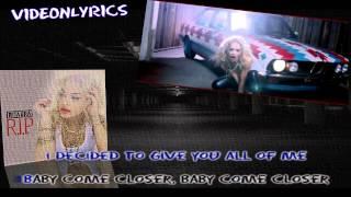 Rita Ora Feat. Tinie Tempah - R.I.P [Karaoke/Instrumental] With Lyrics