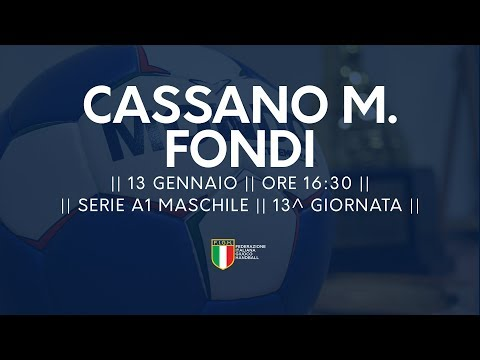 Serie A1M [13^]: Cassano Magnago - Fondi 29-22