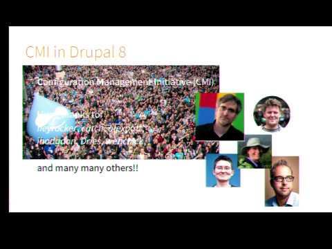 DrupalCon Barcelona 2015: Features for Drupal 8