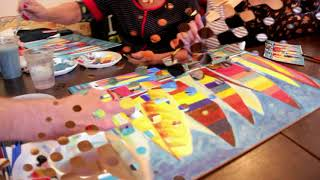 """Мастер класс по живописи от -  Арт мастерской """"Творчество   это жизнь"""". Город Сумы."""