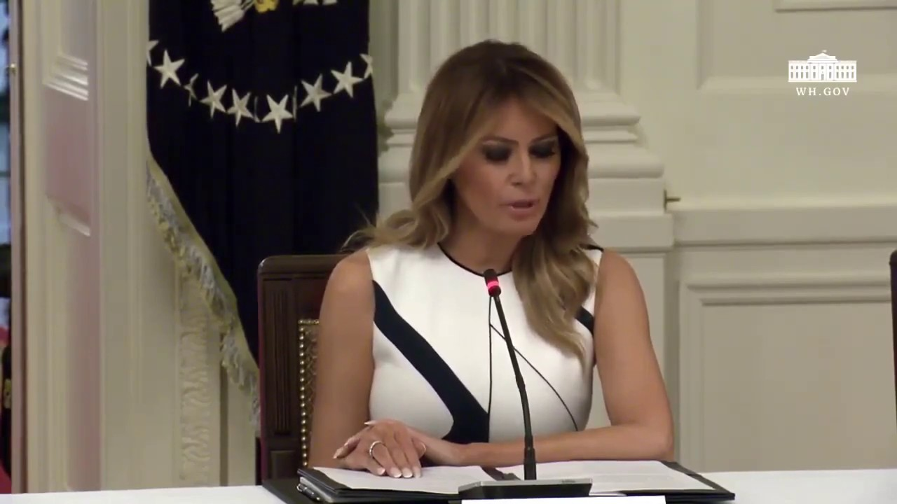 "First Lady Melania Trump: ""they are missing more than just time in the classroom."""