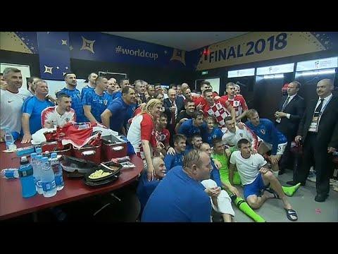 دفء مشاعر رئيسة كرواتيا يلطف أجواء نهائي كأس العالم وأمطاره…