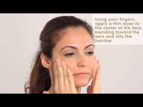 "James Read Tan - How To Use ""Sleep Mask Tan Face"""