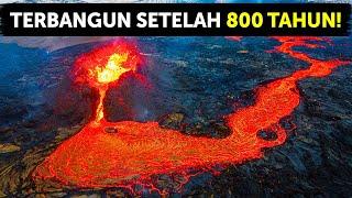 50.000 Gempa Bumi dalam 3 Minggu Mengguncang Gunung Berapi Ini Sampai Terbangun
