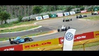 MRF MMSC FMSCI INDIAN NATIONAL RACING CHAMPIONSHIP || MRF F1600 RACE 3