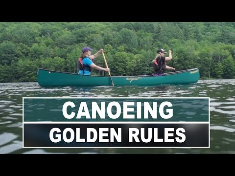 Golden Rules of Canoeing | How to Stay Safe on the Water