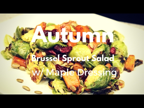 Autumn Salad with Maple Dressing Ep 0
