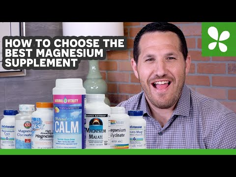 How To Choose The Best Magnesium Supplement