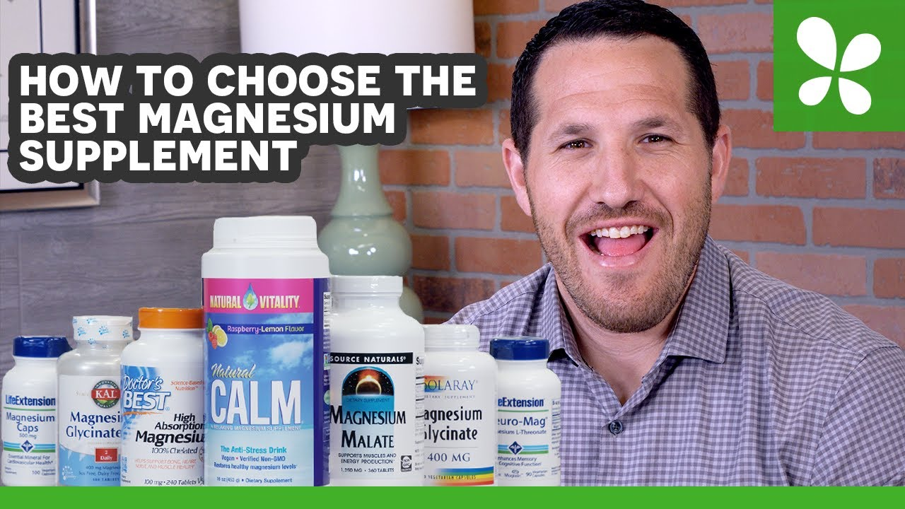 magnesium supplements – Supplements for Anxiety