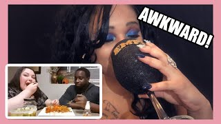DRUNK REACTION! | COOKING WITH BIBI & FOODIE BEAUTY | 🍵