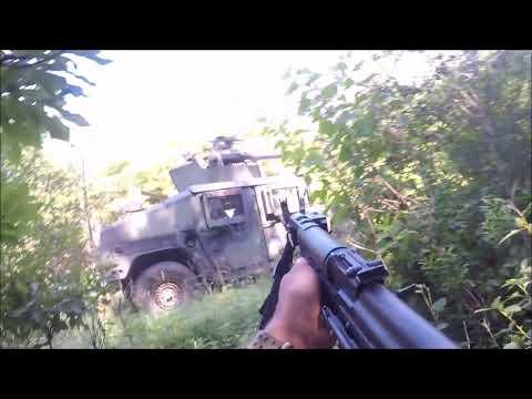 Army XCTC OpFor: Convoy Ambush